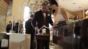Wedding Video Unity Candle