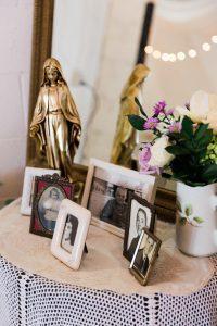 small wedding details, elopement details