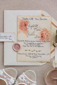 homemade wedding invitation, family wedding invite