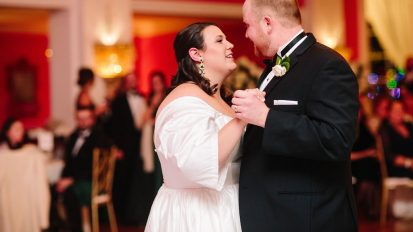 Mary + Austin | A Winter Wedding at the Greenbrier Resort